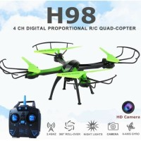 JJRC H98 2.4GHz 4CH RC Quadcopter Drone dengan 0.3MP Kamera Headless M