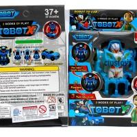 FIGURE MINI TOBOT Y TRANSFORMABLE ROBOT 50082DT - BEST SELLER