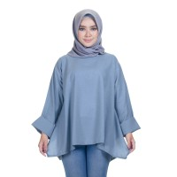 BLOUSE DENIM ABU MUDA