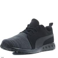 Sepatu pria Sneakers sekolah Running puma black shoes original 100%