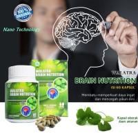 Suplemen Otak Dewasa / Memperkuat Ingatan  Brain Nutrition 60 Kapsul