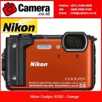 Nikon Coolpix W300 - Orange 4K Video - Kamera Underwater