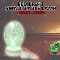 EELIC LAU-CL3D - SPIDERMAN LAMPU CREATIVE LIGHT 3D 10 LED CAHAYA 3 WAR
