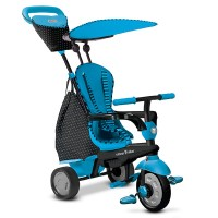 Smart Trike 4IN1 Glow Blue / Sepeda Anak