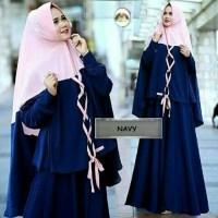sifa maxi Baju muslim butik pesta xl gamis hijab maxi syifa T2909
