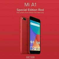 XIAOMI Mi A1 RAM 4GB ROM 64GB SPECIAL EDITION RED COLOUR