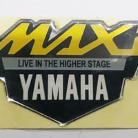 STIKER RESIN / STIKER / EMBLEM YAMAHA MAXI ( NMAX, AEROX, XMAX, TMAX )