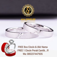 Cincin kawin cincin nikah,cincin couple,cincin pernikahan, PALLADIUM