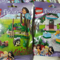 LEGO 41020 & 41021 - Polybag Friends series 2