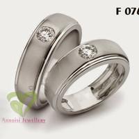 cincin kawin sepasang emas putih cincin tunangan mas 375