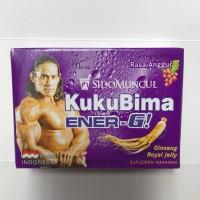 Kukubima Anggur 1 Pak Box Dus 6 Sachet Sashet Pcs / Kuku Bima Grosir