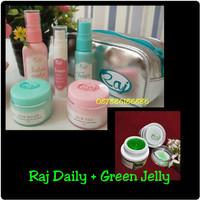 Paket Perawatan Wajah   RAJ Skincare / Kosmetik BPOM RAJ Skin Care