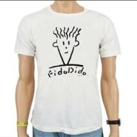 Kaos /T-Shirt Fido Dido White