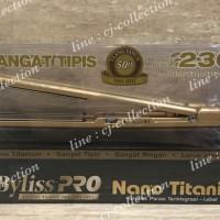 ORI - BABYLISS PRO Nano Titanium Straightener Super Slim Gold Edition