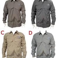 Kemeja PDH (pakaian dinas harian) kemeja outdoor The North Face