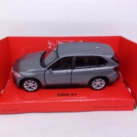 BARANG BERKUALITAS DIECAST MINIATUR MOBIL SUV BMW X5 DIECAST WELLY