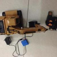 mainan anak remote control Rc alat berat beko Murah