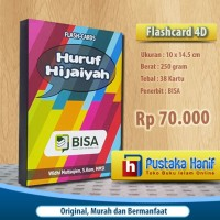 Flashcard Hijaiyah BISA - Kartu Baca Huruf Arab Mainan Edukasi Anak
