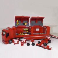 Lego Brick Lepin Truk Mobil Truk Balap Formula one F1 21010