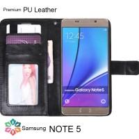 Samsung Note 5 Flip Wallet Leather Case