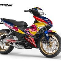 Decal Stiker Yamaha MX King Redbull FULLBODY