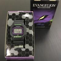 Casio Gshock DW 5600VT Evangelion 2.0 Eva-01 Test Type