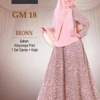 Gamis Hai Hai GM 18 / Wolcrepe Print