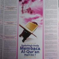 Poster Sudahkah Anda Membaca Al-Quran Hari Ini
