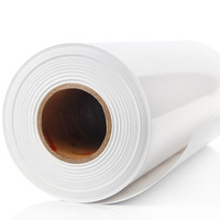Vinyl Coating Sticker For Dye Inkjet Printer 60 cm x 30 m White Gloss