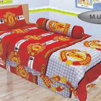 SPREI LADY ROSE 2IN1 MU Manchester United Sorong Duo Grosir