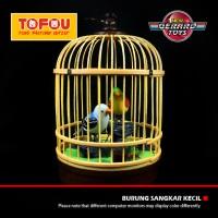 NEW.. ! Mainan Edukasi kreatif Burung Sangkar Kecil 650A Kuning