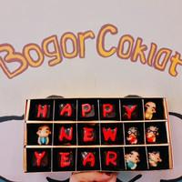 Coklat Ucapan Tahun Baru