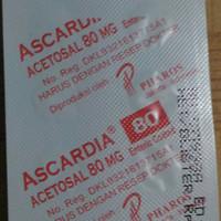 Ascardia Acetosal 80mg