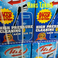 H&L ABW VGS 70 Mesin Semprot Air HL Jet Cleaner Steam Cuci Motor Mobil