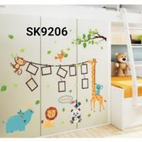 Jual Wall Sticker / Wallstiker / Stiker Dinding Frame Photo SK9206 Murah