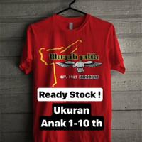 Atasan/Kaos/T-Shirt/MERPATI PUTIH PENCAK SILAT RED