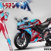 Decal stiker Yamaha R15 v3 Ultraman Ginga