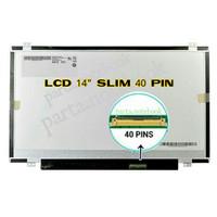 LAYAR LAPTOP ACER TOSHIBA ASUS LENOVO DELL HP AXIOO LCD LED 14.O SLIM