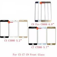 Samsung Galaxy C5 C5000 C7 C7000 C9 Pro C9000 LCD Touch Screen Glass