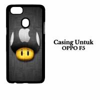 Casing OPPO F5 Apple Logo LG Custom Hard Case