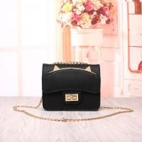 Tas Wanita Import C91878 Black Clutch Bag Korea Tas Pesta Cat Ear H&M
