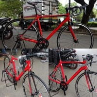 Sepeda Balap United Inertia 300 fork Aero Carbon Frame Murah
