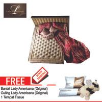 Lady Americana Set Kasur Spring Bed Sovereign 180 x 200