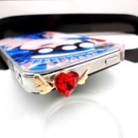 Love Wings Diamond Pluggy - Earplug - earcap Iphone Samsung Blackber