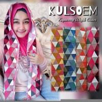 Jilbab Hijab Syari Terbaru Hoodie Wajik Glitter HJ56