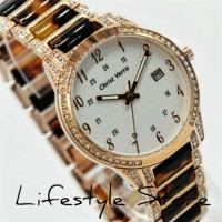 Lifestyle Fashion Aksesoris Jam Tangan Wanita Original Christ Verra