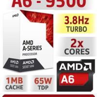 Processor AMD A6 9500 3.5Ghz Up To 3.8Ghz Bristol Ridge APU Socket AM4