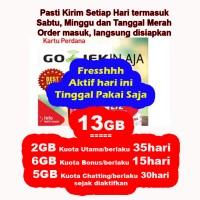 Kartu Perdana 13GB Smartfren 4G LTE bukan 30GB bukan 65gb Ready 13 GB