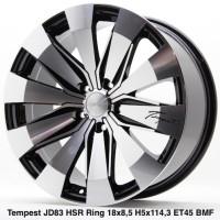Velg Mobil Rush Hrv Crv Civic Xpander TEMPEST JD83 HSR Ring 18