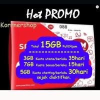 Kartu Perdana 15GB Smartfren 4G LTE bukan 30GB PASTI KIRIM HARI INI